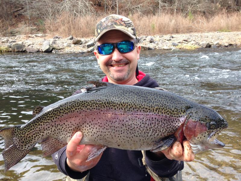 Trout for Broken bow fishing